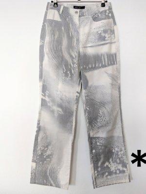 Grau-weiße Hose von Marc Cain