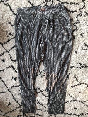 Esprit Pantalón estilo Harem gris-blanco puro
