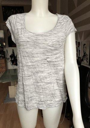 Grau/weißes H&M Shirt M