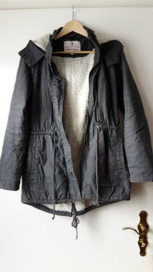 graublaue Jacke von Tally Weijl