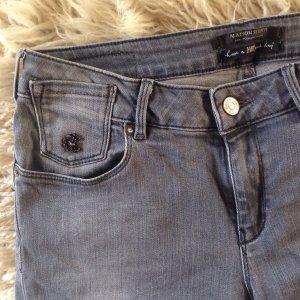 Graublaue Slimfit Jeans von Maison Scotch W 29, L 32
