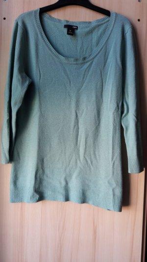 Graublauer Pullover 3/4 Arm H&M
