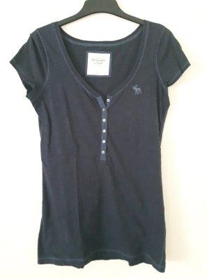 graublaues T-Shirt von Abercrombie & Fitch