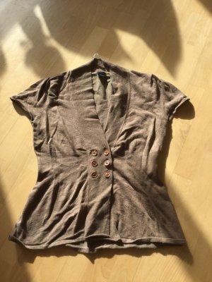 Graubraune Strickjacke von S-Oliver, Größe 40