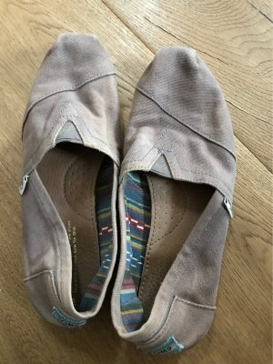 Toms Slip-on Shoes grey brown