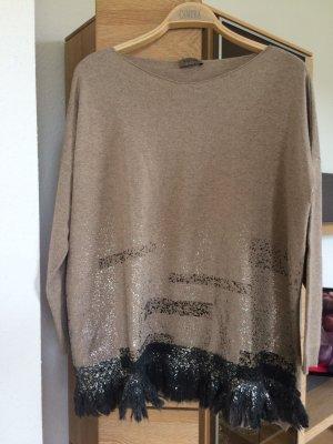 Graubrauner Pullover von Malvin