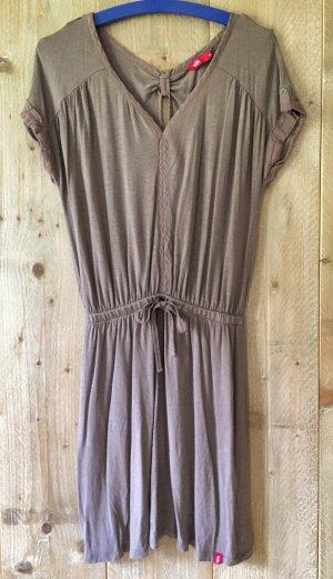 graubraunes Jersey-Kleid, Strandkleid von Esprit