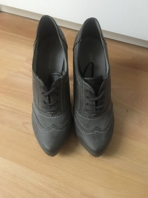 Graue Ankle Boots Gr. 39
