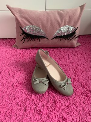 Strappy Ballerinas light grey-grey