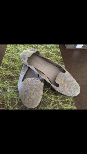 Graue Ballerinas von Kennel & Schmenger