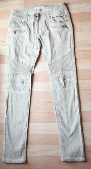 Pantalon cigarette multicolore