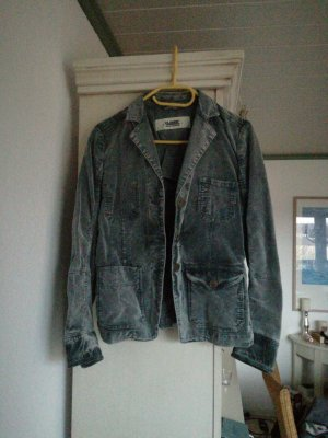 Closed Jacket light grey-grey