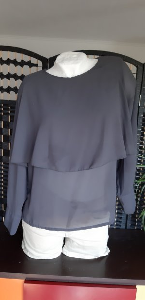 Altamira Milano Slip-over blouse grijs
