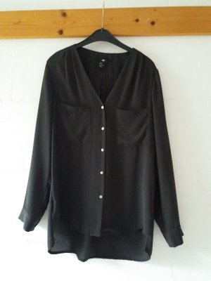 H&M Camicetta a blusa grigio scuro Poliestere