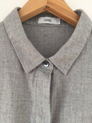 Closed Long Sleeve Blouse light grey
