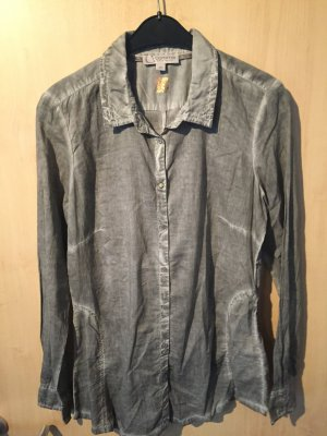 graue Bluse von Comma in der Gr. 38 - sehr guter Zustand