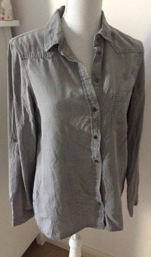 Zara Camicetta a blusa grigio-grigio chiaro