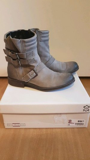 5th Avenue Botas gris Cuero