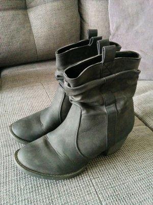 Boots grey-dark grey