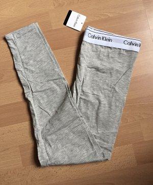 Graue Calvin Klein Leggings neu mit Etikett S