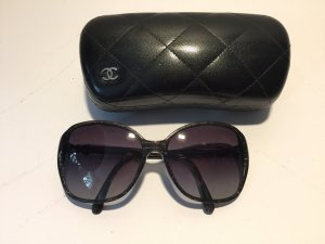 Chanel Zonnebril donkergrijs-grijs kunststof