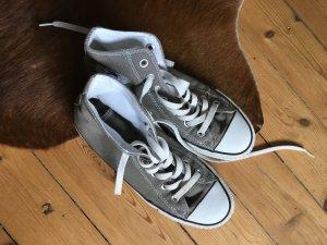 Graue/charcoal Converse Chucks minimale Gebrauchsspuren Größe 38