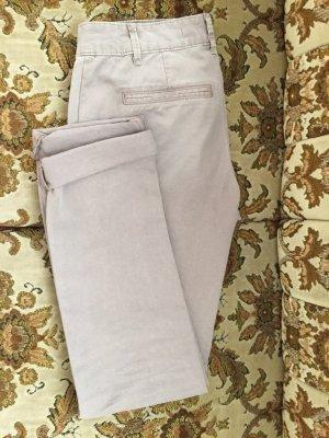 Yaya Pantalone chino argento Cotone
