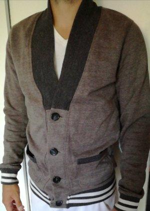 College Jacket grey-black