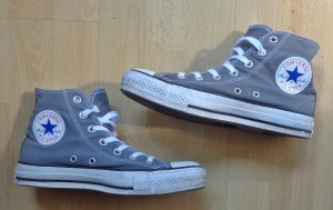 graue Converse 37,5 Original All Star Trunschuhe Sneaker