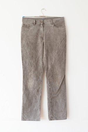 Gardeur Pantalone di velluto a coste grigio Cotone