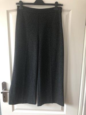 Hallhuber Pantalone culotte grigio scuro