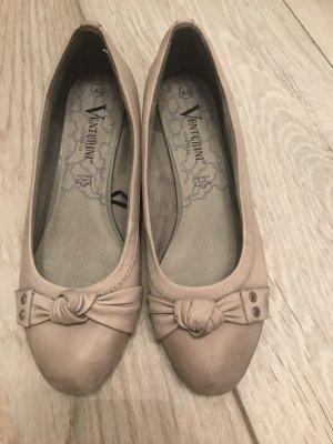 Venturini Slingback Ballerinas grey brown-light grey