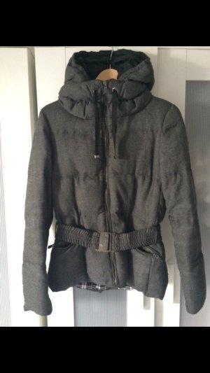 Graue Daunenjacke Zara