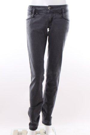 graue Diesel Hüft-Jeans