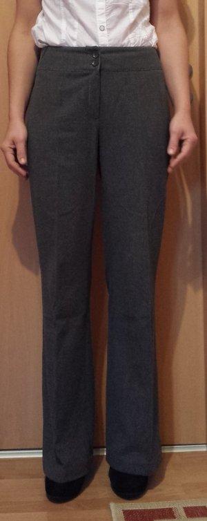 graue edle wollige Hose, Größe 38, warm für Winter
