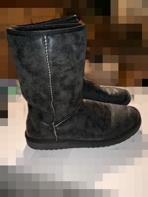 Esprit Fur Boots dark grey