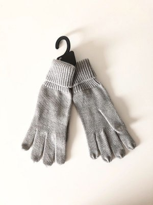 Gloves grey-light grey