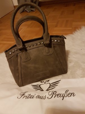 Fritzi aus preußen Carry Bag silver-colored-light grey imitation leather