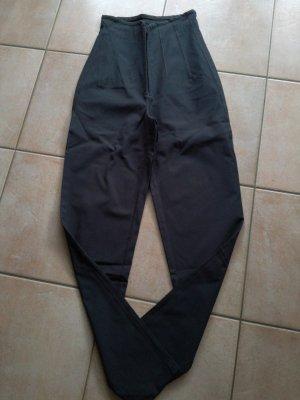 Marithé + Francois Girbaud Pantalon taille haute gris