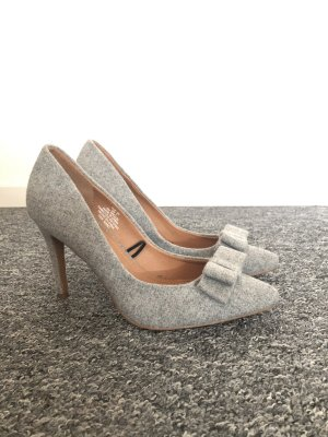 H&M Pointed Toe Pumps light grey