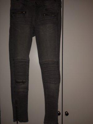 Graue H&M Skinny Jeans