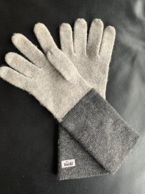 Graue Handschuhe von Roeckl