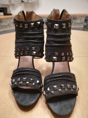 5th Avenue High Heel Sandal dark grey