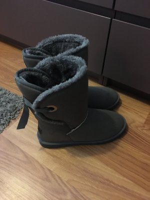 Graue hohe Esprit Booties