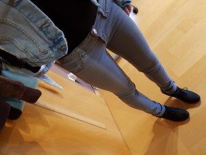 Tally Weijl Pantalone a sigaretta grigio