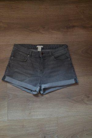 H&M Hot pants grigio-grigio chiaro