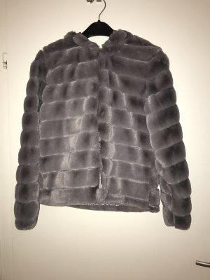 Fur Jacket grey