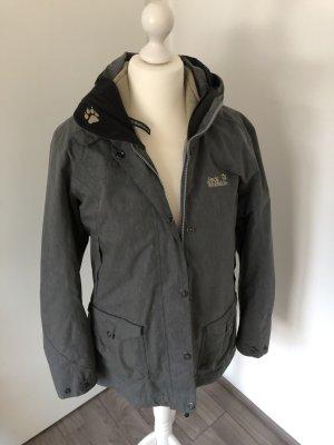 Graue Jacke / Outdoor-Jacke von Jack Wolfskin, Gr. L