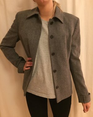 Hugo Boss Blazer in lana grigio Lana vergine