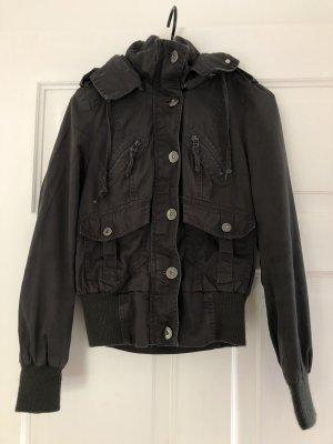 Graue Jacke von Vero Moda
